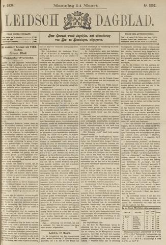 Leidsch Dagblad 1892-03-14