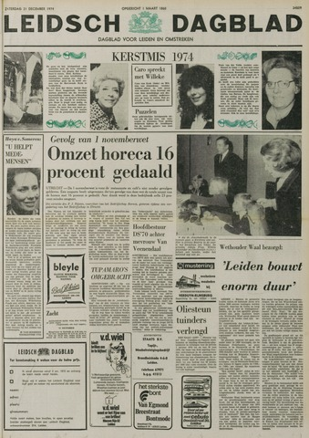 Leidsch Dagblad 1974-12-21