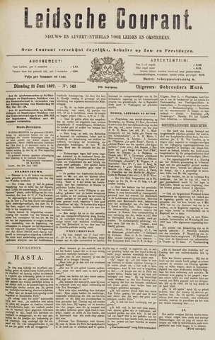 Leydse Courant 1887-06-21