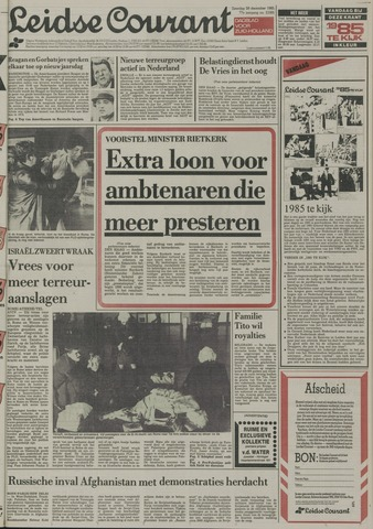 Leidse Courant 1985-12-28