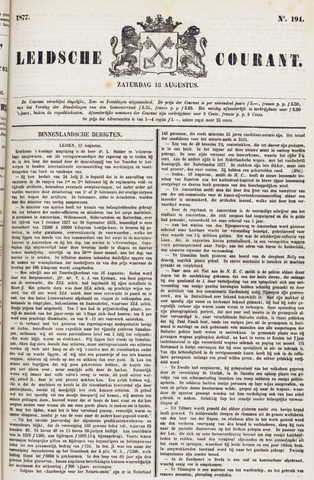 Leydse Courant 1877-08-18