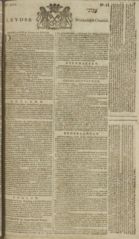 Leydse Courant 1772-07-22