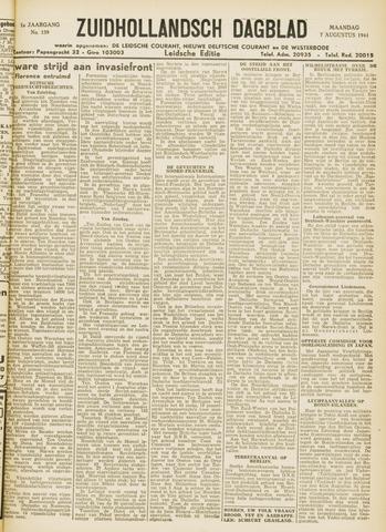 Zuidhollandsch Dagblad 1944-08-07