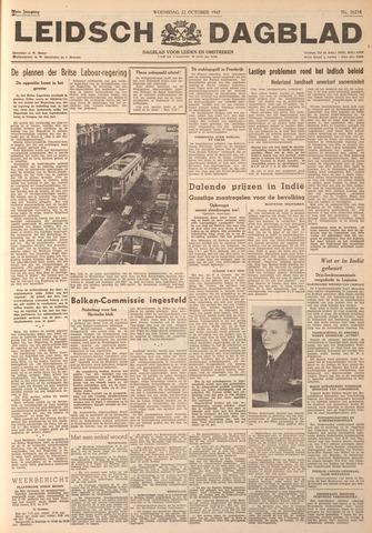 Leidsch Dagblad 1947-10-22