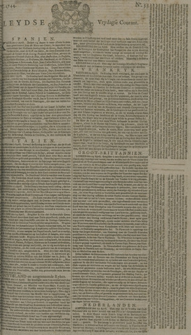 Leydse Courant 1744-05-01