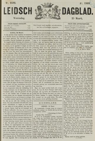 Leidsch Dagblad 1868-03-25