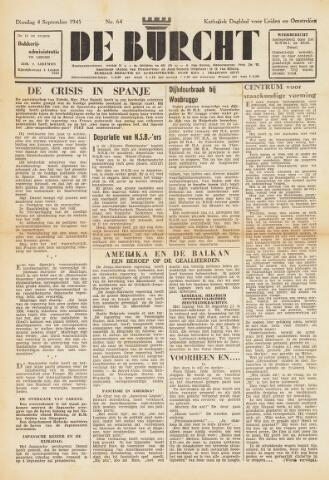 De Burcht 1945-09-04
