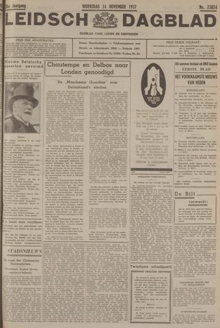 Leidsch Dagblad 1937-11-24