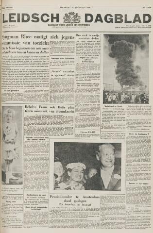 Leidsch Dagblad 1955-08-15
