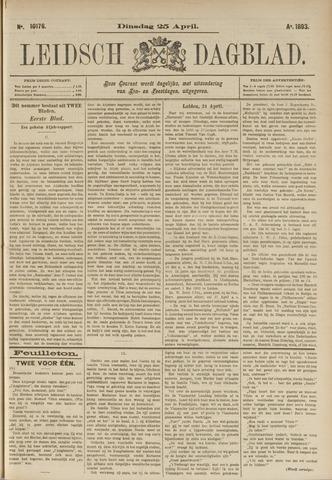 Leidsch Dagblad 1893-04-25