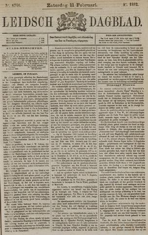 Leidsch Dagblad 1882-02-11