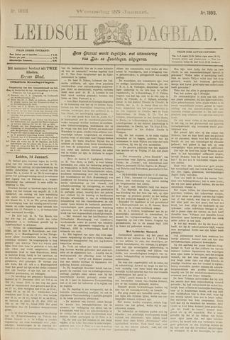 Leidsch Dagblad 1893-01-25