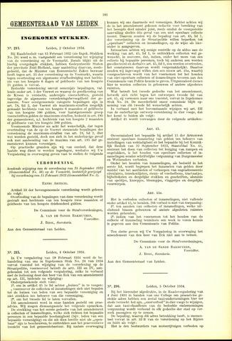 Handelingen van de Raad 1934-10-02