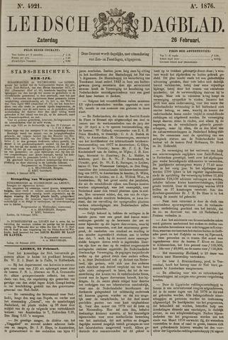 Leidsch Dagblad 1876-02-26