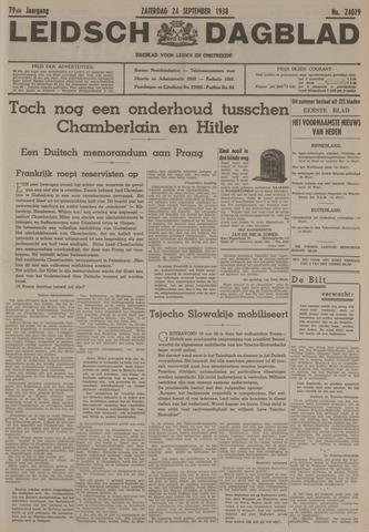 Leidsch Dagblad 1938-09-24