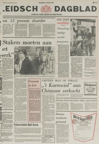 Leidsch Dagblad 1979-08-27