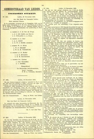 Handelingen van de Raad 1930-11-26
