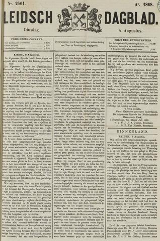 Leidsch Dagblad 1868-08-04