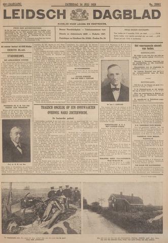 Leidsch Dagblad 1928-07-14