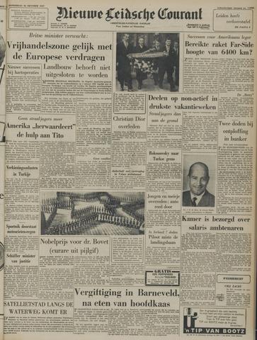 Nieuwe Leidsche Courant 1957-10-24