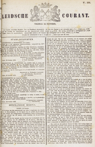Leydse Courant 1879-10-24