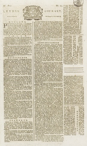 Leydse Courant 1817-02-24