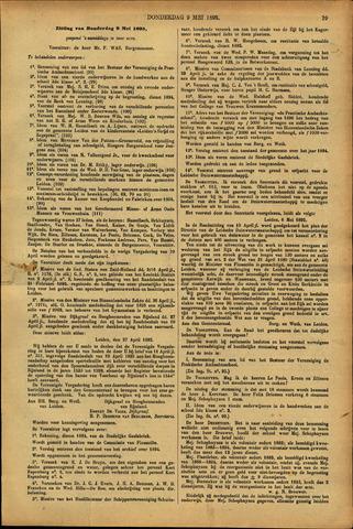 Handelingen van de Raad 1895-05-09