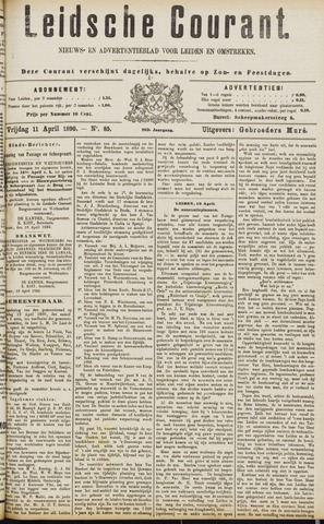 Leydse Courant 1890-04-11