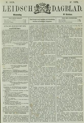 Leidsch Dagblad 1876-10-18