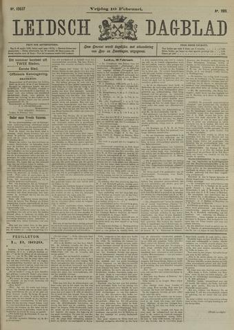 Leidsch Dagblad 1911-02-10