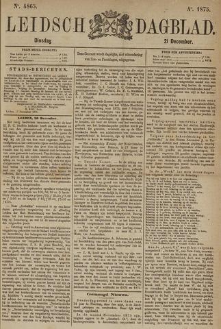 Leidsch Dagblad 1875-12-21