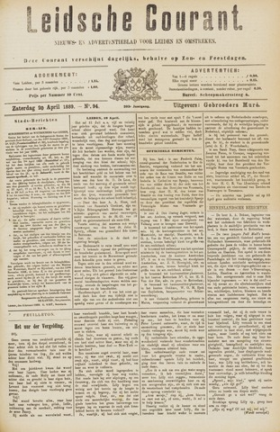Leydse Courant 1889-04-20