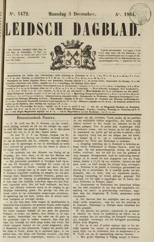 Leidsch Dagblad 1864-12-05