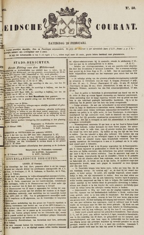 Leydse Courant 1885-02-28