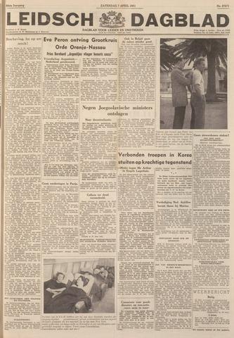 Leidsch Dagblad 1951-04-07