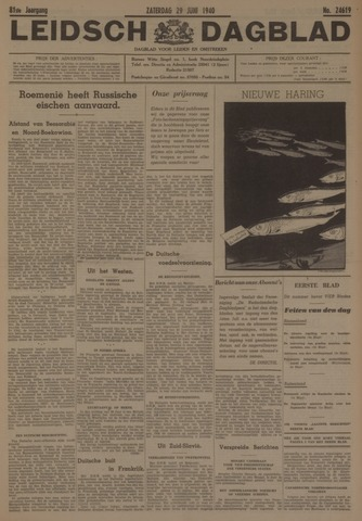 Leidsch Dagblad 1940-06-29