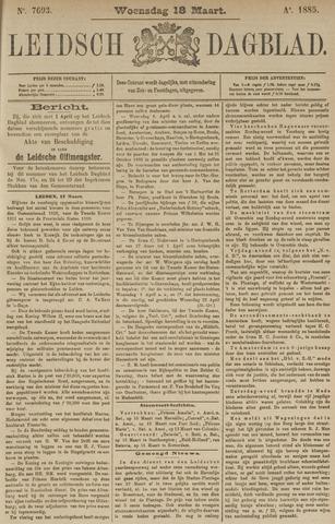 Leidsch Dagblad 1885-03-18