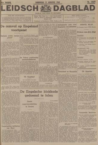 Leidsch Dagblad 1940-08-15