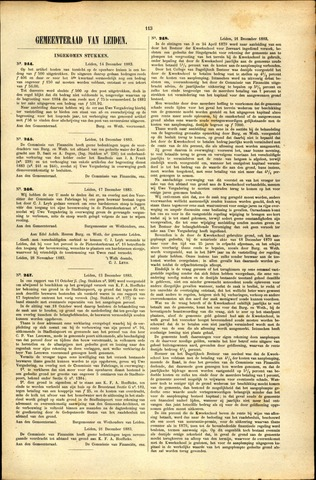 Handelingen van de Raad 1883-12-14