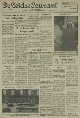 Leidse Courant 1961-11-08