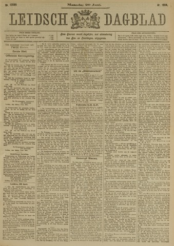 Leidsch Dagblad 1904-06-20