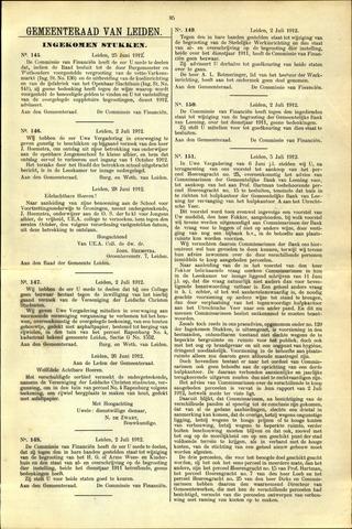 Handelingen van de Raad 1912-06-25