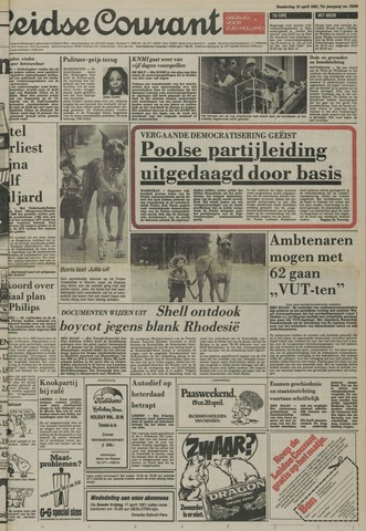 Leidse Courant 1981-04-16
