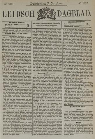Leidsch Dagblad 1880-10-07