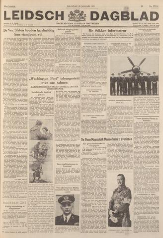 Leidsch Dagblad 1951-01-29