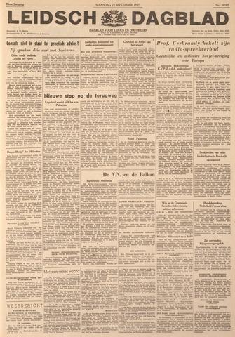 Leidsch Dagblad 1947-09-29