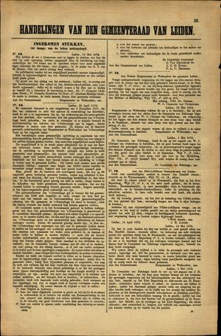 Handelingen van de Raad 1872-05-10