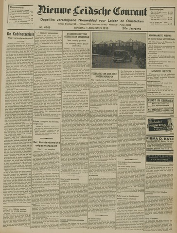 Nieuwe Leidsche Courant 1939-08-01