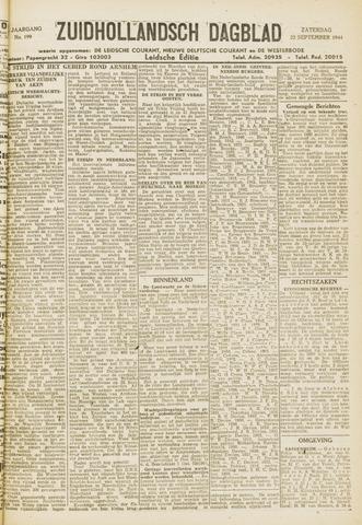 Zuidhollandsch Dagblad 1944-09-23