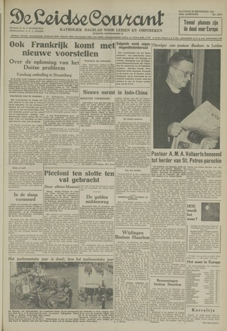 Leidse Courant 1954-09-20